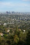 Los Angeles Panorama Royalty Free Stock Images