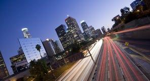 Los Angeles panoramica Fotografie Stock
