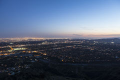 Los Angeles, Pasadena och Glendale Kalifornien Royaltyfri Fotografi