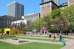 Los Angeles Pershing Square Royalty Free Stock Photography