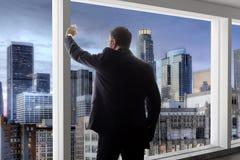 Los Angeles pośrednik handlu nieruchomościami lub biznesmen zdjęcia stock