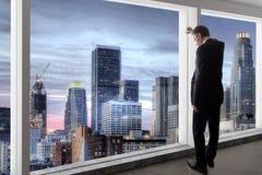 Los Angeles pośrednik handlu nieruchomościami lub biznesmen obrazy royalty free