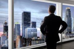Los Angeles pośrednik handlu nieruchomościami lub biznesmen obraz stock