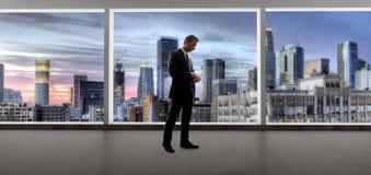 Los Angeles pośrednik handlu nieruchomościami lub biznesmen fotografia stock