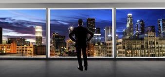 Los Angeles pośrednik handlu nieruchomościami lub biznesmen zdjęcie stock