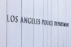 Los Angeles Police Department Sign Royalty Free Stock Images