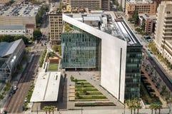 Los Angeles-Polizeidienststellegebäude Lizenzfreies Stockfoto