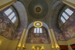 Los Angeles Public Library. Los Angeles, JUN 27:  Public Library Rotunda on JUN 27, 2016 at L.A., California Stock Photos