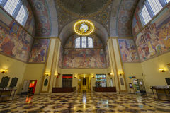 Los Angeles Public Library. Los Angeles, JUN 27:  Public Library Rotunda on JUN 27, 2016 at L.A., California Stock Photography