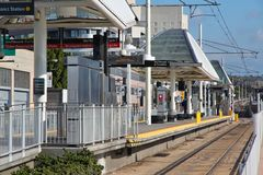 Los Angeles public transport Stock Photography
