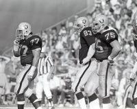 Los Angeles Raiders defense Stock Photo