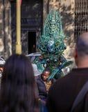 Los Angeles Rambla, obcy Obrazy Royalty Free