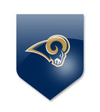 Los angeles rams. Nfl team Stock Photography