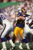 Mel Owens. Los Angeles Rams star Mel Owens. Image taken from color negative Stock Photography