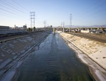 Los Angeles River 2 Stock Image