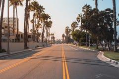 Los Angeles. Road near Venice royalty free stock photos