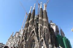 Los Angeles Sagrada Familia Fotografia Stock