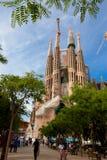 Los Angeles Sagrada Familia 2013 Obraz Royalty Free