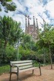 Los Angeles Sagrada Familia BARCELONA HISZPANIA, Sierpień 2014, - zdjęcia stock