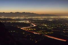 Los Angeles San Fernando Valley Dawn Royalty Free Stock Photos