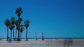Los Angeles, Santa Monica stock footage