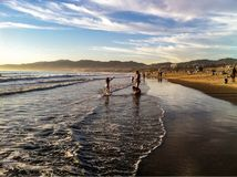 Los Angeles Santa Monica Lizenzfreies Stockfoto