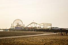 Los angeles Santa Monica. Los angeles California Santa Monica Beach Royalty Free Stock Photo