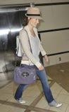 LOS ANGELES - Schauspielerin Olivia WIlde wird an LOCKEREM gesehen lizenzfreie stockfotografie