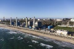 Los Angeles Seaside Power Generation Facilities Stock Image