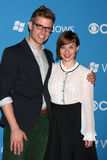 Barrett Foa,Renee-Felice Smith Stock Photo