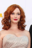 Christina Hendricks Lizenzfreie Stockfotos