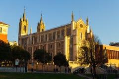 Los Angeles Seu gothic średniowieczna katedra Palma de Mallorca, Hiszpania 29 12,2016 fotografia stock