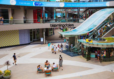 Los Angeles shopping mall Stock Photography