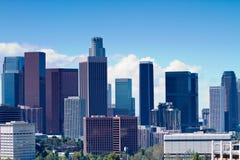 Los Angeles Skyline Royalty Free Stock Photo