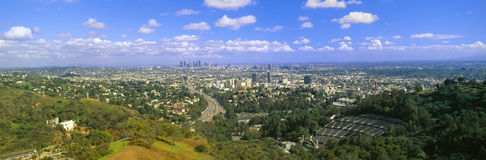 Los Angeles Skyline Royalty Free Stock Images
