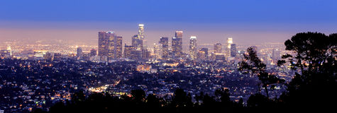 Los Angeles-Skyline Stockfotos