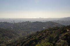Los Angeles-Skyline in Abstand 4 Lizenzfreies Stockbild