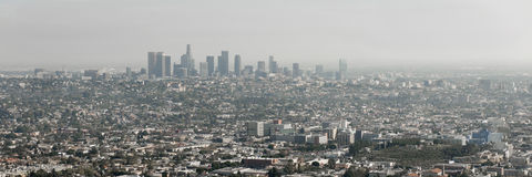 Los Angeles skyline, California Royalty Free Stock Photo