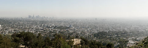 Los Angeles skyline, California Stock Images