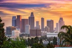 Los Angeles Skyline Stock Image