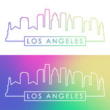 Los Angeles skyline. Stock Photography