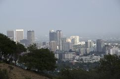 Los Angeles skyline downtown Stock Photo