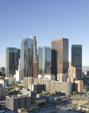 Los Angeles Skyline in Early Morning Royalty Free Stock Photography