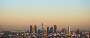 Los Angeles Skyline Stock Image