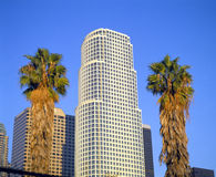 Los Angeles Skyline - 777 Tower, California Stock Photography