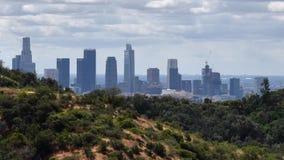 Los Angeles Skyline stock video footage