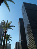 Los Angeles skyscrapers Royalty Free Stock Photography