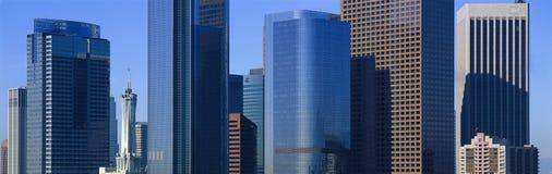 Los Angeles skyskrapor arkivfoto