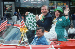 Los Angeles St. Patrick's Day Parade Royalty Free Stock Photo