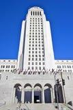 Los Angeles-Stadt Hall Tower, im Stadtzentrum gelegenes Behördenviertel Stockfotos